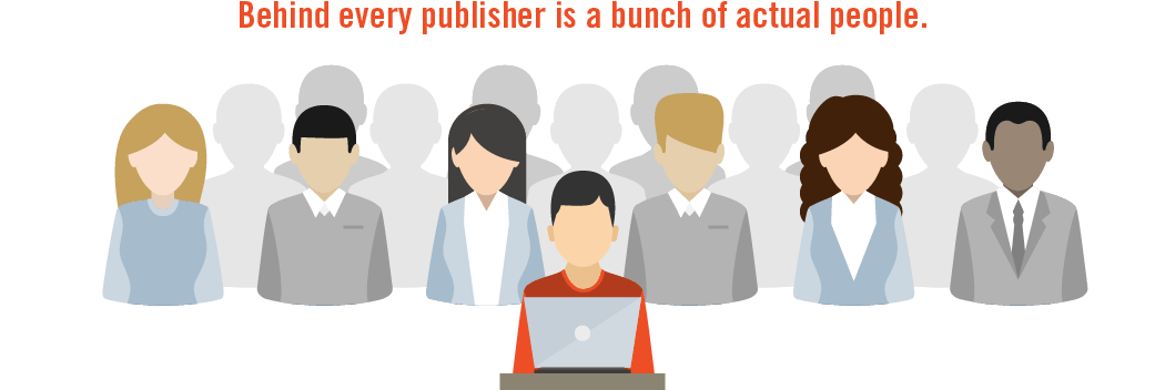the people behind the publisher