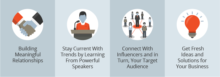4 key benefits for marketers to attend Marketing Events, Meetings, and Conferences in 2017