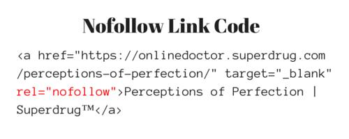 Nofollow Link Code