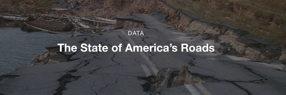 state of america's roads