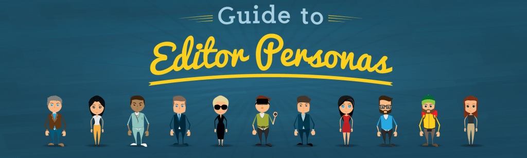 , Guide to Editor and Marketing Influencer Personas