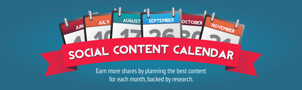 , Social Media Content Calendar
