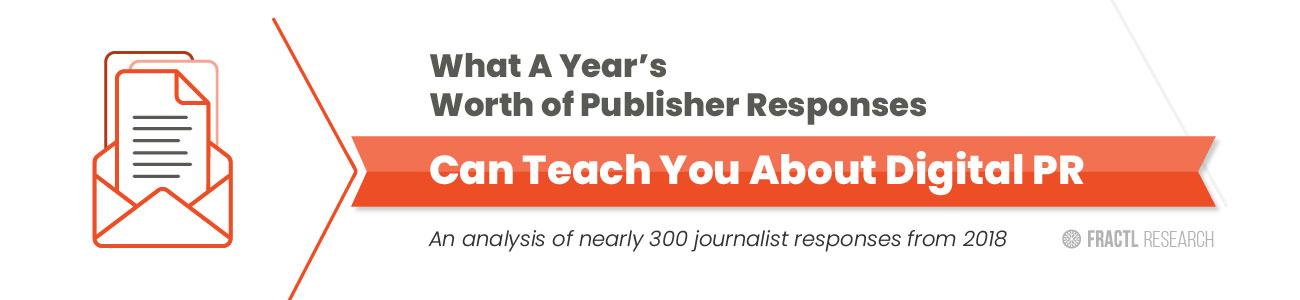 What A Year's Worth of Publisher Responses Can Teach You About Digital PR