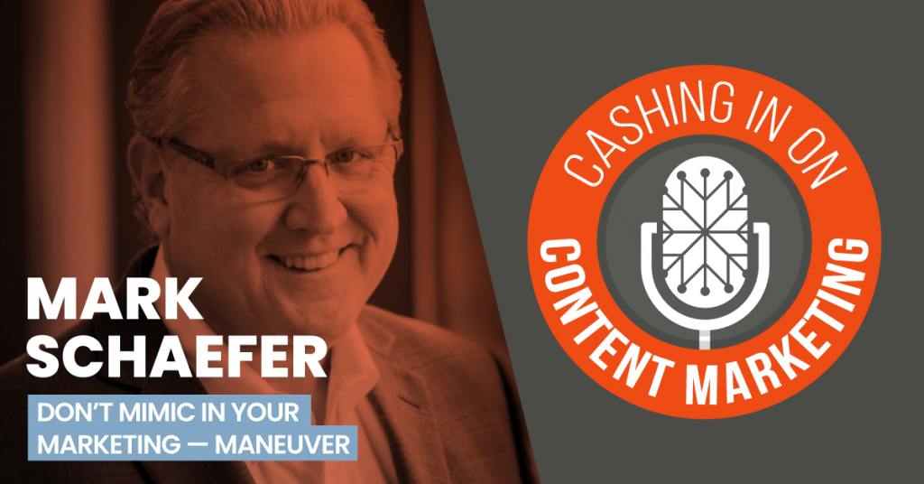 Mark Schaefer - Cashing In On Content Marketing